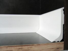 sockelleiste hart pvc der profi wenn es um paneele geht. Black Bedroom Furniture Sets. Home Design Ideas